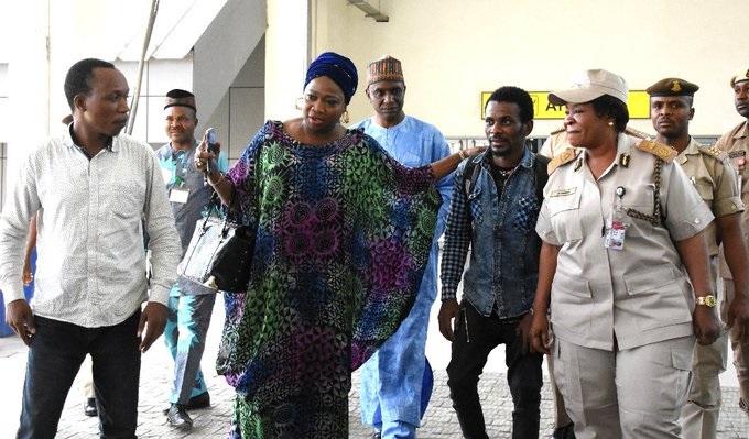 NIDCOM chief receives 2 Nigerian returnees stranded in Kenya